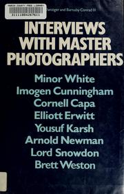 Interviews with master photographers