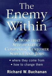 Cover of: The Enemy Within | Richard W., Ph.D. Buchanan