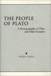 Cover of: The People of Plato by Debra Nails
