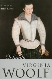 Cover of: Orlando by Virginia Woolf