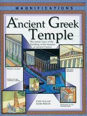 Cover of: An Ancient Greek Temple by John Malam
