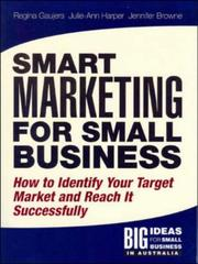 Cover of: Solutions Manual: Smart Marketing for Small Business by Gaujers