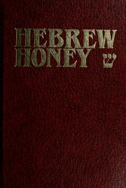 Hebrew honey