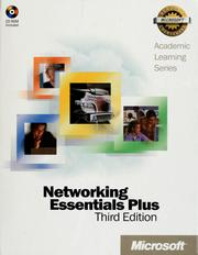 Cover of: Networking essentials plus | Microsoft Corporation
