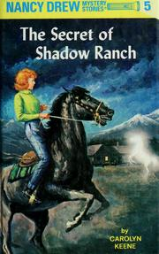 Cover of: The Secret of Shadow Ranch | Carolyn Keene