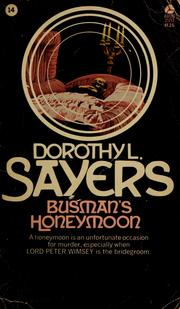 Cover of: Busman's honeymoon | Dorothy L. Sayers