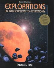 Cover of: Explorations | Thomas T. Arny