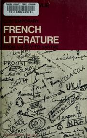 Cover of: A guide to contemporary French literature | Wallace Fowlie