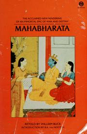 Cover of: Mahabharata | William Buck