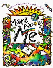 Cover of: More about Me by Linda Kranz
