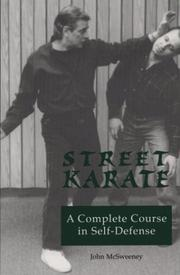 Cover of: Street karate | John McSweeney