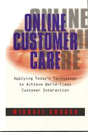Cover of: Online Customer Care by Michael Cusack