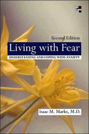 Cover of: Living With Fear | Isaac M. Marks