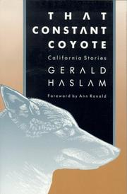 Cover of: That constant coyote | Gerald W. Haslam