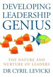 Cover of: Developing Leadership Genius | Cyril Levicki