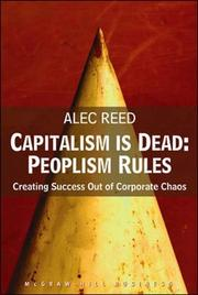 Cover of: Capitalism Is Dead - Peoplism Rules | Alec Reed