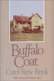 Cover of: Buffalo coat by Carol Ryrie Brink