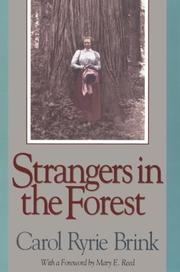 Cover of: Strangers in the forest by Carol Ryrie Brink