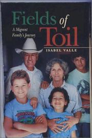 Cover of: Fields of toil | Isabel Valle