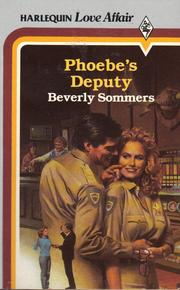 Cover of: Phoebe's deputy by Beverly Sommers