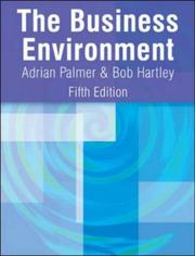 Cover of: Business Environment by Bob Hartley