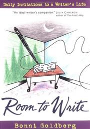 Cover of: Room to write | Bonni Goldberg
