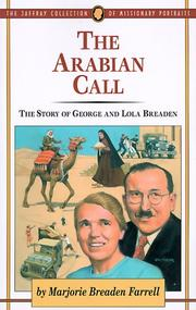 Cover of: The Arabian Call by Marjorie Farrell