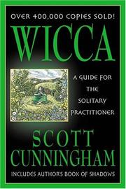 Cover of: Wicca by Scott Cunningham
