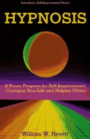 Cover of: Hypnosis (Llewellyn's Self-Improvement) | Hewitt