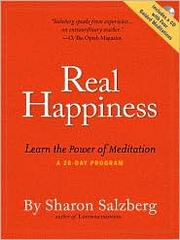 Cover of: Real Happiness | Sharon Salzberg