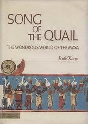 Cover of: Song of the Quail by Ruth Karen