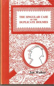 Cover of: Singular case of the Duplicate Holmes | Jan Walker