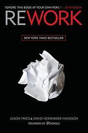 Cover of: Rework by Jason Fried