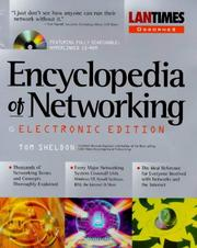 Cover of: Encyclopedia of Networking by Tom Sheldon