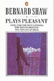 Cover of: Plays Pleasant | George Bernard Shaw