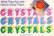 Cover of: Crystals by Marlene M. Robinson