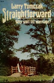 Cover of: Straightforward by Larry Tomczak