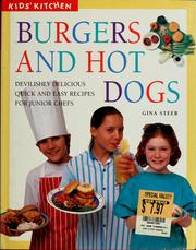Cover of: Burgers and hot dogs | Gina Steer
