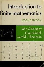 Introduction to finite mathematics