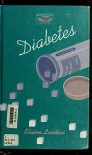Cover of: Diabetes by Elaine Landau