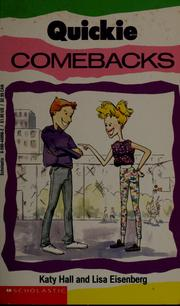 Cover of: Quickie Comebacks | Katy Hall