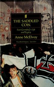 Cover of: The saddled cow | Anne McElvoy