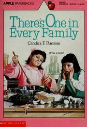Cover of: There's One in Every Family | Candice F. Ransom