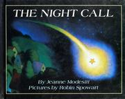 Cover of: The night call by Jeanne Modesitt