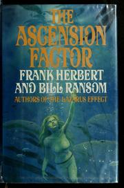 Cover of: The ascension factor | Frank Herbert