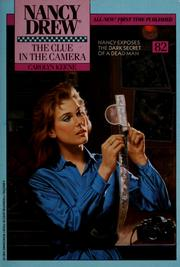 Cover of: The clue in the camera | Carolyn Keene