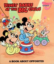 Cover of: Disney babies at the big circus | Rita D. Gould