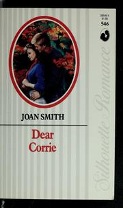 Cover of: Dear Corrie by Joan Smith