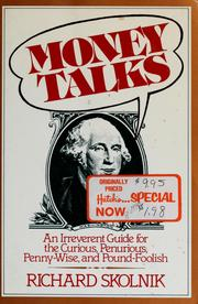 Cover of: Money talks | Richard Skolnik