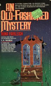 Cover of: An old-fashioned mystery by Runa Fairleigh
